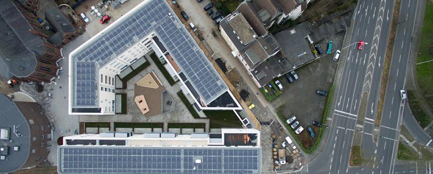 Der Jacobushof - weitgehend energieautark und mitten im Herzen Hildens