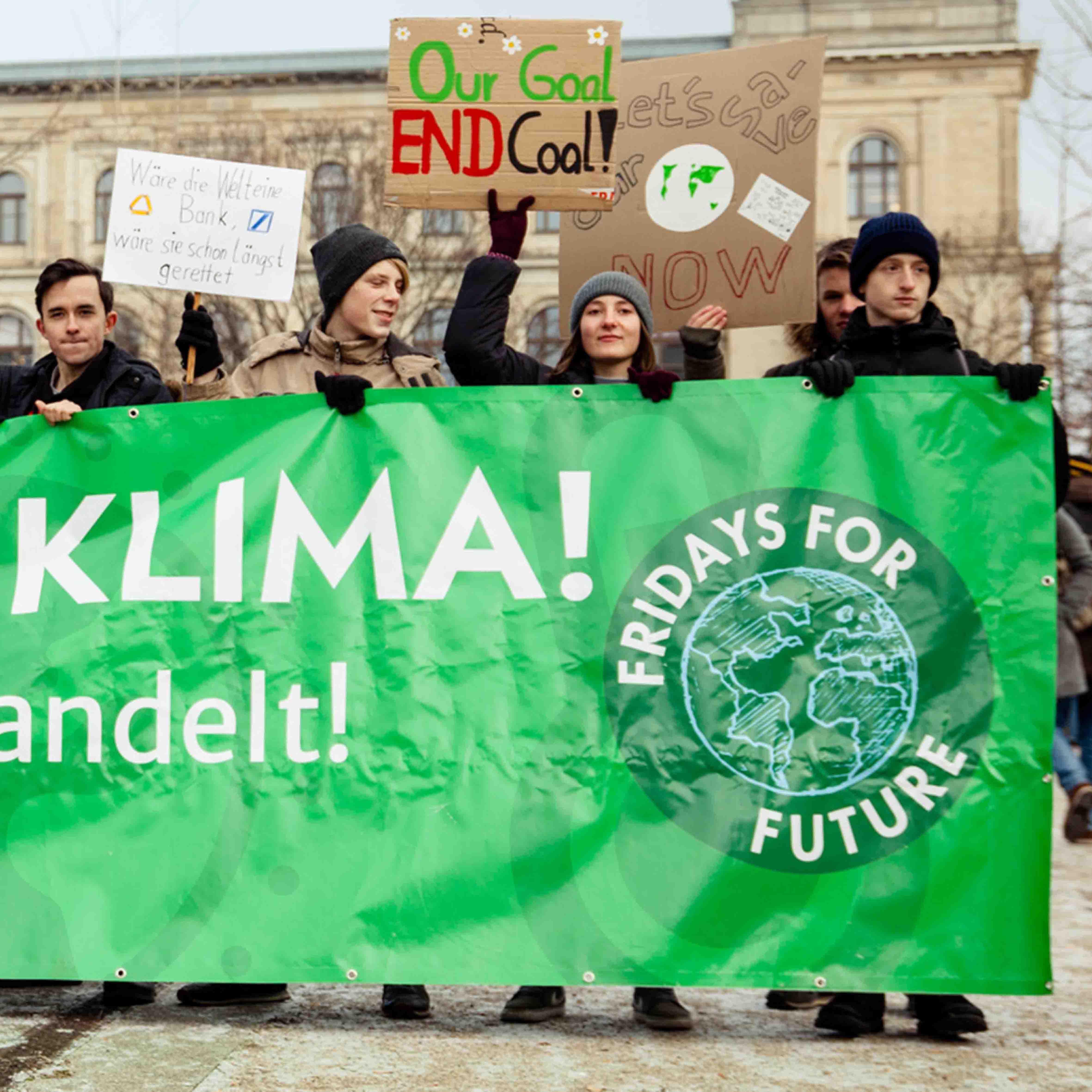 Fridays for Future Demo Klimaschutz