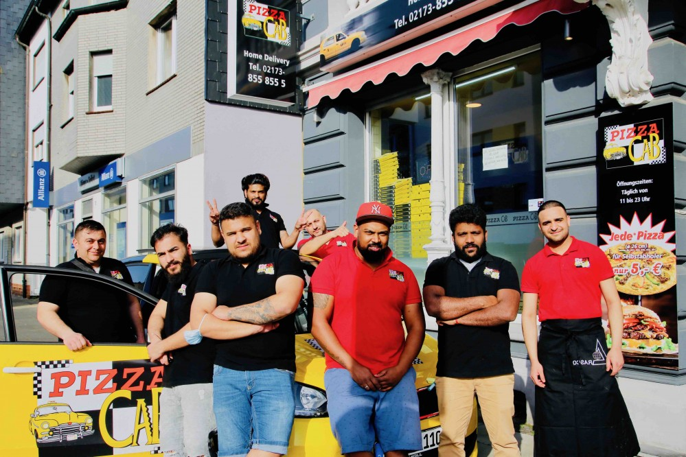Mitte Januar 2021 wurde der Pizza Cab in Langenfeld eröffnet