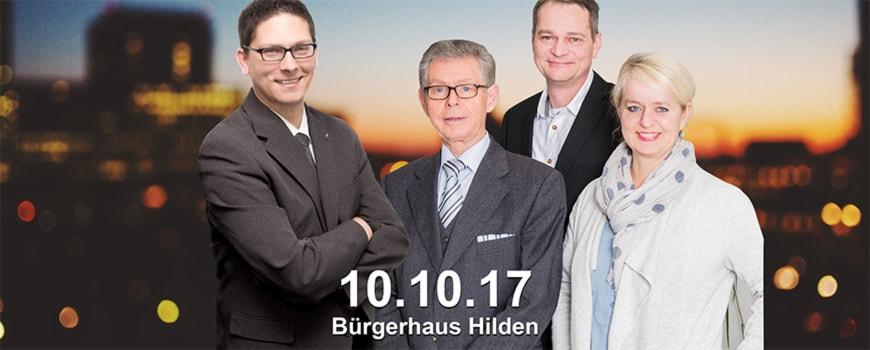 """""""Riegel vor"""": Infoveranstaltung im Bürgerhaus über Einbruchschutz"""