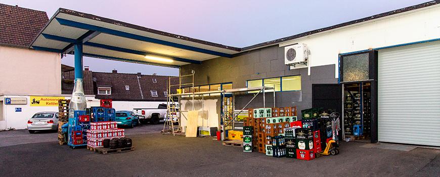 Getränkeshop Hilden an der Gerresheimer Straße
