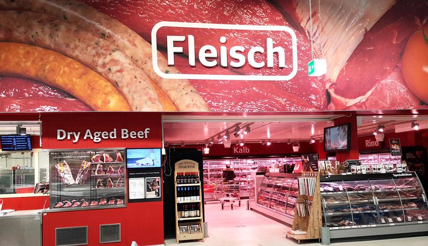 Selgros-Hilden-Fleisch-Abteilung