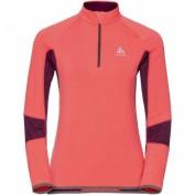 ODLO Damen Langlauf-Shirt DIOXIDE Midlayer 1/2 zip