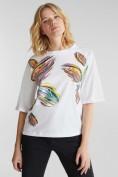 Shirt mit Blumen-Print, 100% Organic Cotton