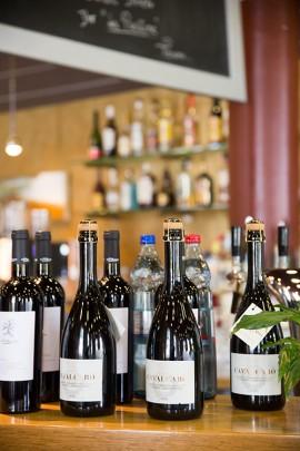 Rund 600 Weinsorten bietet das Restaurant Hilden Alter Bahnhof