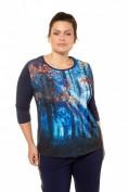 Shirt, Wald-Fotomotiv, Classic, 3/4-Arm