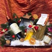 Weihnachtlicher Präsentkorb