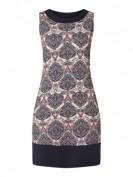 Montego  Kleid mit Paisleymuster - Rosé