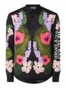 Versace Jeans Couture  Regular Fit Freizeithemd aus Viskose  - Schwarz