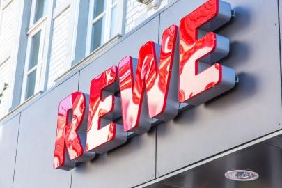 Rewe gibt es gleich zweimal in Hilden