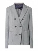 Windsor  Blazer aus Baumwolle mit Hahnentritt-Dessin - Marineblau