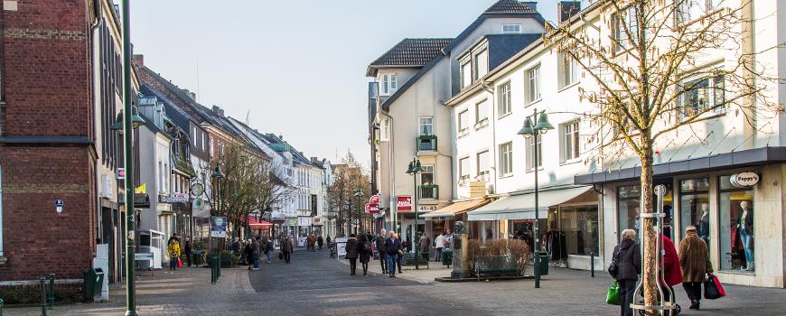Einkaufen in Schlebusch: Innenstadt