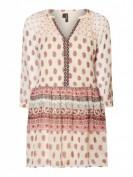 Vero Moda  Kleid aus Chiffon mit Paisleymuster  - Ecru