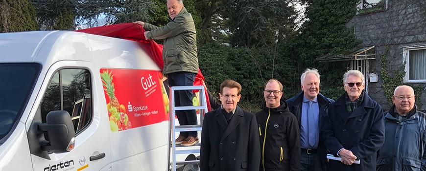 PS-Sparen: Neues Kühlfahrzeug für die Hildener Tafel