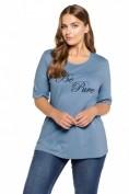 """T-Shirt, Stickerei """"Be Pure"""", Regular, Biobaumwolle"""