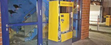 Kassenautomat gesprengt - aber keine Beute
