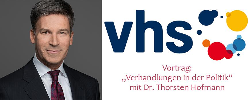 VHS Hilden-Haan: Wie verhandeln Politiker erfolgreich?