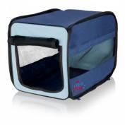 Trixie Transport-Hütte Twister dunkelblau/hellblau