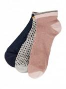 Becksöndergaard Dina Mix 3 W. -  Socken im 3er-Pack Modell 'Dina' - Schwarz