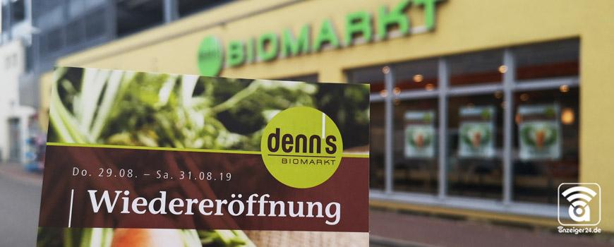denn's Biomarkt Hilden feiert Wiedereröffnung