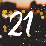 Adventskalender Nummer 21