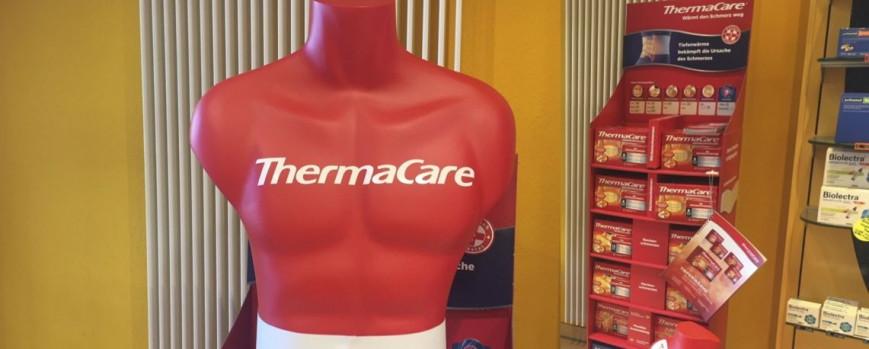Bei Rücken-, Nacken- und Regelbeschwerden hilft ThermaCare