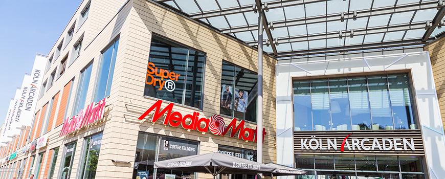 Top 10 Geschäfte in der Köln Arcaden