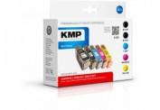 KMP C15V Tintenpatrone ersetzt Canon BCI3EBK (4479A002), Canon BCI6BK (4705A002), Canon BCI6C (4706A