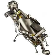 HTI-Living Weinflaschenhalter Liegestuhl