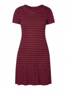 MICHAEL Michael Kors  Kleid mit Lochmuster und Nietenbesatz - Purple