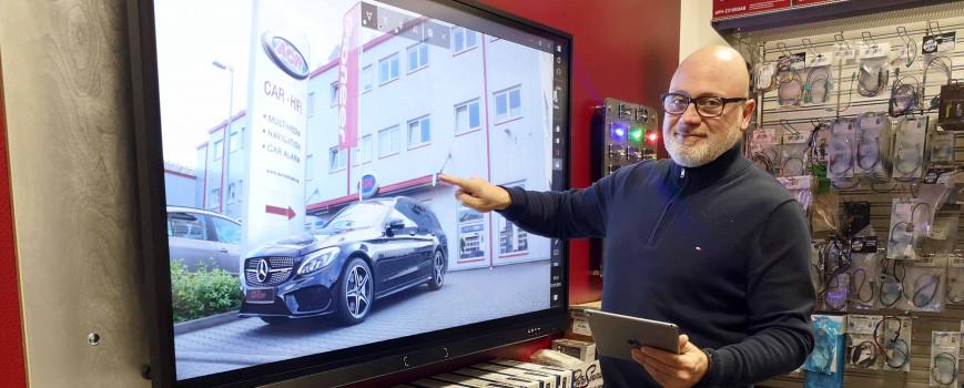 Audio Zentrum Hilden: Interaktive Verkaufshilfe für Car HiFi
