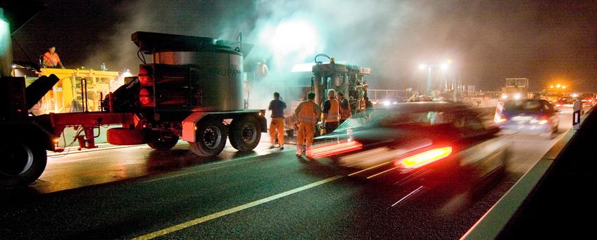 Wieder Straßensperrungen auf der A59