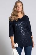 Shirt, Relaxed, Blüten, 3/4-Ärmel, selection