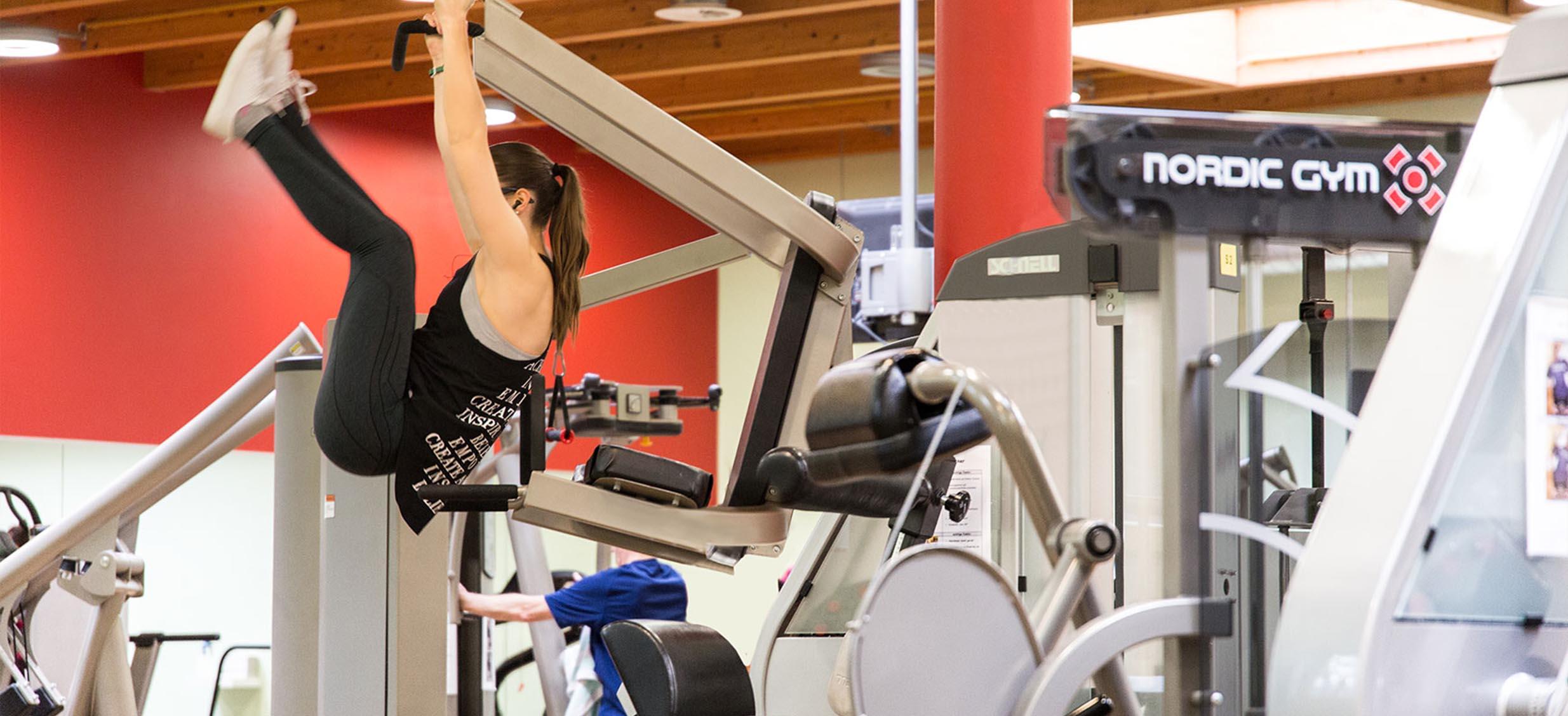 Fitnessstudio Innenraum