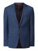 HUGO Arti193 -  Extra Slim Fit Sakko aus reiner Schurwolle Modell 'Arti' - Marineblau