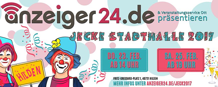 """Jecke Stadthalle 2017"""