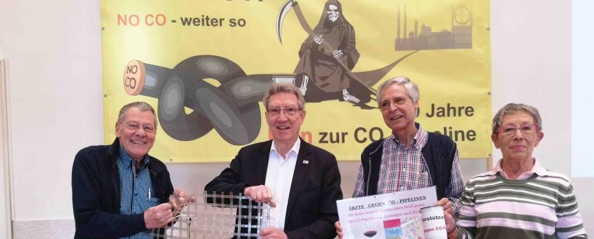 Vier neue Kläger gegen das umstrittene Rohrleitungsprojekt