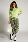 Pullover, Ziernaht, Oversized, Stehkragen, Langarm