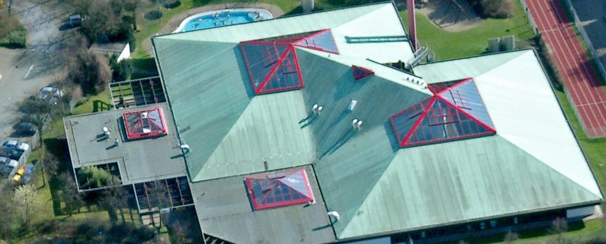 Das Dach vom Hildorado wird erneuert