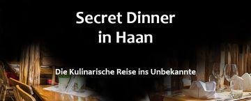 Secret Dinner in Haan