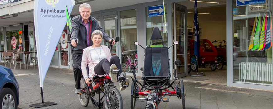 Spezialrad-Verkauf Appelbaum lädt zum Tag der offenen Tür