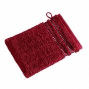 VOSSEN Waschhandschuh rubin