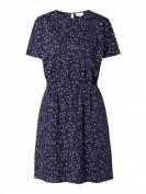 Armedangels  Kleid aus Lyocell und Organic Cotton - Dunkelblau