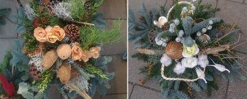 Allerheiligen und Totensonntag: Gestecke und Blumen gibt es in der Gärtnerei Hosse - Quartour