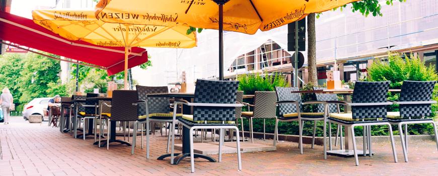 Restaurant nam: Terrasse ist eröffnet
