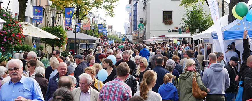 Michaelismarkt Dormagen – 28. bis 29. September 2019