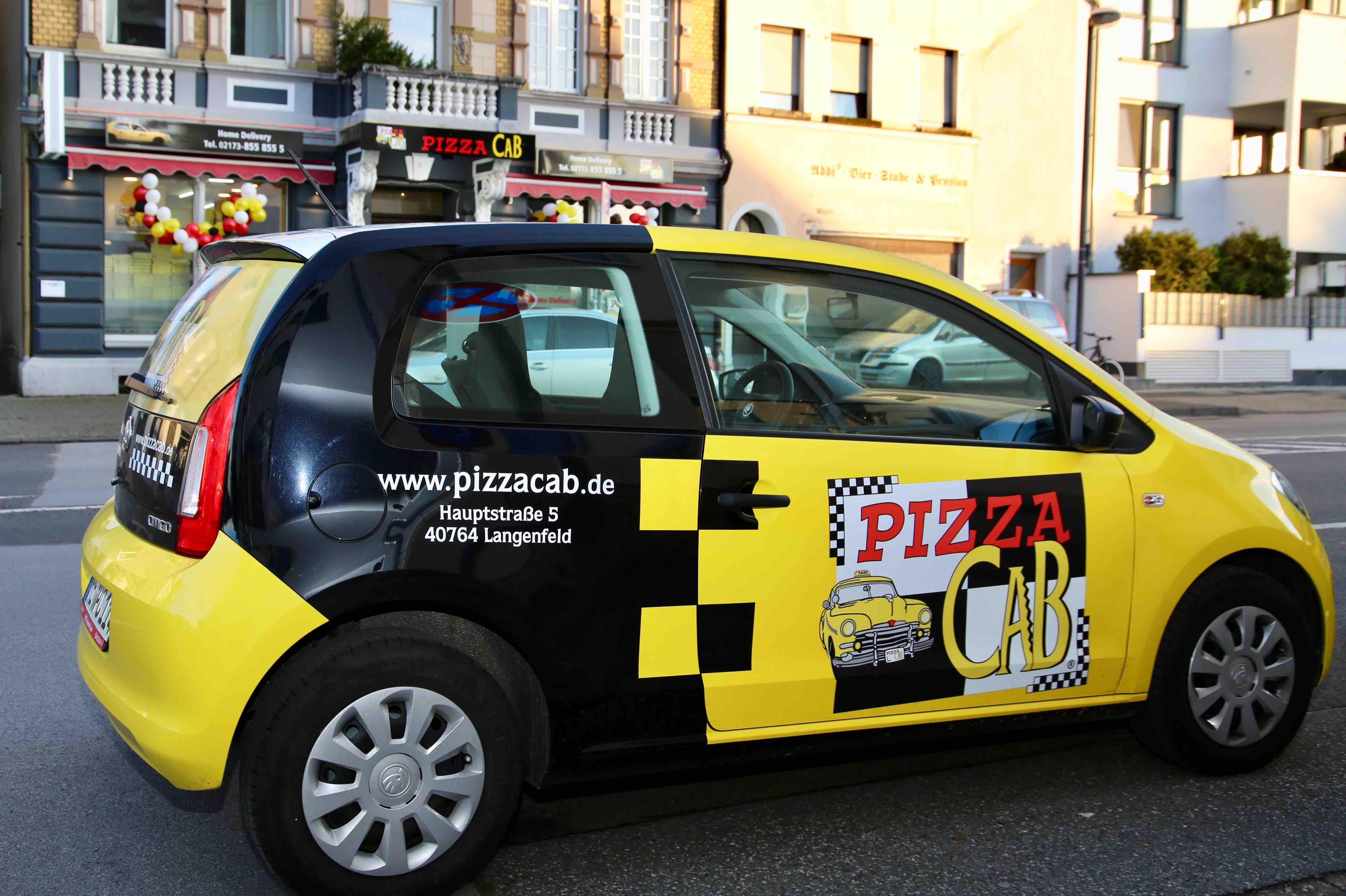 Die Pizza Cab Langenfeld Liefertaxis