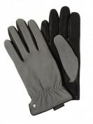 Roeckl Sportiv Bicolor -  Handschuhe aus Leder  - Schwarz