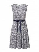 Montego  Kleid mit Taillengürtel  - Marineblau
