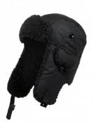 Barbour  Uschanka aus gewachster Baumwolle  - Schwarz